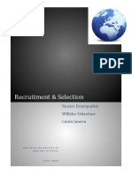 Paper IHRM Recruitment Selection Def