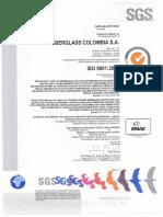 Certificado SGS I0001-12.12.2011