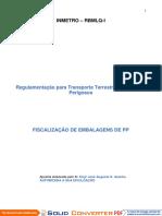 Apostil Embalagem de Pp - Terrestre - Fiscalização