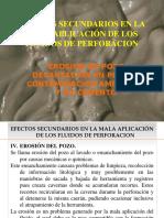 6.- Efectos Secundarios Erosion Dec en Piletas Contaminacion Ambiental y de Cemento 2016