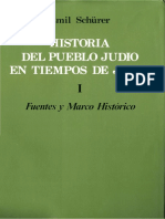 Schurer, Emil - Historia Del Pueblo Judio en Tiempos de Jesus 01
