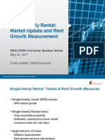 2017 05 24 Realtor University Speaker Series Rental Market Rent Growth Measurement Frank Nothaft Presentation Slides 05-25-2017