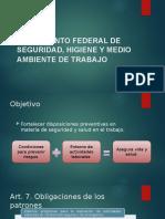 Reglamento Federal de Seguridad, Higiene y Medio Ambiente
