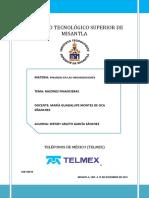 razones financieras TELMEX.pdf