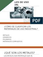 Materiales de Uso Industrial