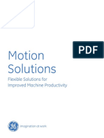Ge Fanuc Motion Solutions