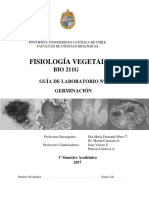 LABORATORIO FISIOLOGIA VEGETAL