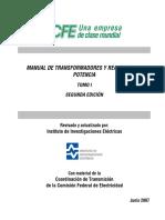 Manual de Transformadores Tomo I