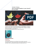3 Secrets of Leadership Training