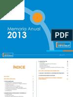 Memoria Anual 2013 Banco Cencosud Perú