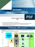 1. NS500 - Basic Spec 2013-1018_Español - Webex