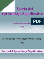 Teoria Aprendizaje Significativo 29075
