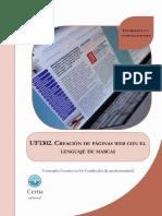 Uf1302 Creacion de Paginas Web Con El Lenguaje de Marcas 160922121049