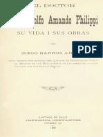 Barros Arana El Doctor Armando Philippi