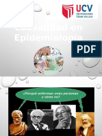 Causalida en Epidemiologia
