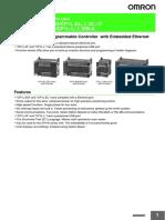 Ficha Ténica PLC Omro P081-E1-02_CP1L