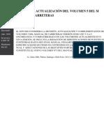 Estudio de Actualizacin Del Volumen 5 Del Manual de Carreteras (1)