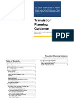 2015 Transition Planning Guidance
