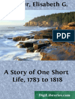 A Story of One Short Life 1783 to 1818