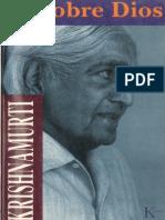 Sobre Dios (Krishnamurti