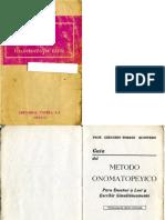 Guía del Método Onomatopéyico - Gregorio Torres Quintero - 12a Ed
