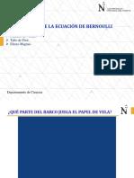 PPT Aplicaciones de Bernoulli