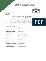 2017 Cupa Equestria- Program Modificat