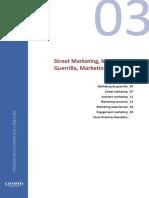 01. Street Marketing, Marketng de Guerrilla, Marketing Sensorial