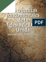 Las Ceencias Fundamentales de la lglesia de dios Unida una Asociacion Internacional