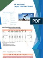Tab. 2.3 - Fontes Energéticas