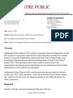 city summer rec proposal 2017