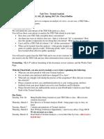 textual analysis assignment sheet