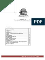 Advanced TESOL E-Book