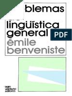 Benveniste, Émile (1974) - Problemas de lingüística general II.pdf