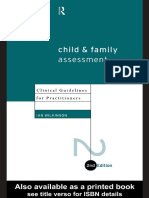 Child Fam Assessment