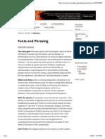 Fonts and Phrasing   Galloway   CTheory