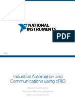 Industrial Automation Communication Using Crio