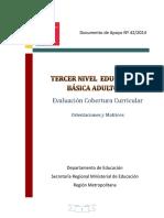 evaluacion covertura curricular