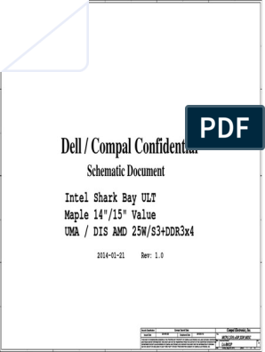 Dell Inspiron 15 14 la-b012  pdf   Computer Architecture   Computer