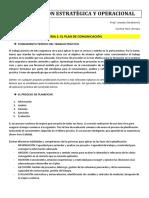 Comunicación Estratégica y Operacional