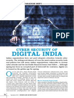 Cyber Security of Digital India