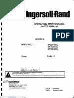 Manual de Operación XP825wcu y XP750wcu