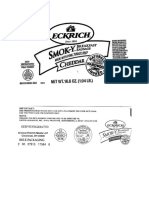 Sausage Recall Labels
