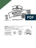 Sausage Recall Labels