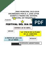 Invitacion Dia Del Niño 2017