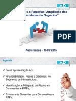 Andre Dabus Regional Sul Concessoes e Parcerias