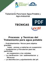 Tratamiento Para Hacer Agua Potable y Agro-Industrial