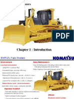 D155AX-5 Bulldozers Introduction