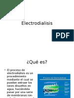 Electro Dialisis