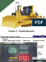 D155AX-5 Bulldozers Monitoring Mode